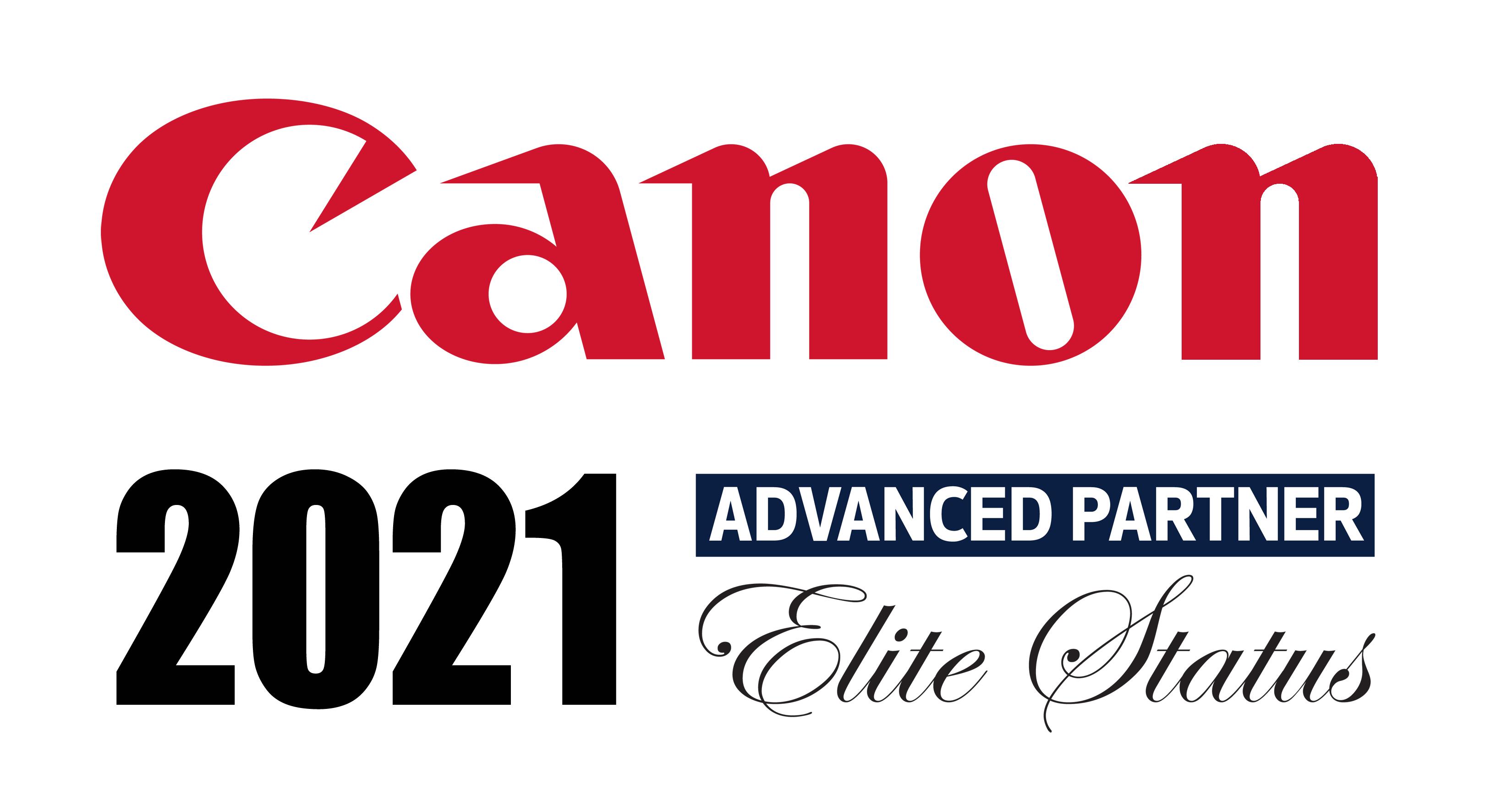 2021 Canon Advanced Partner Logo