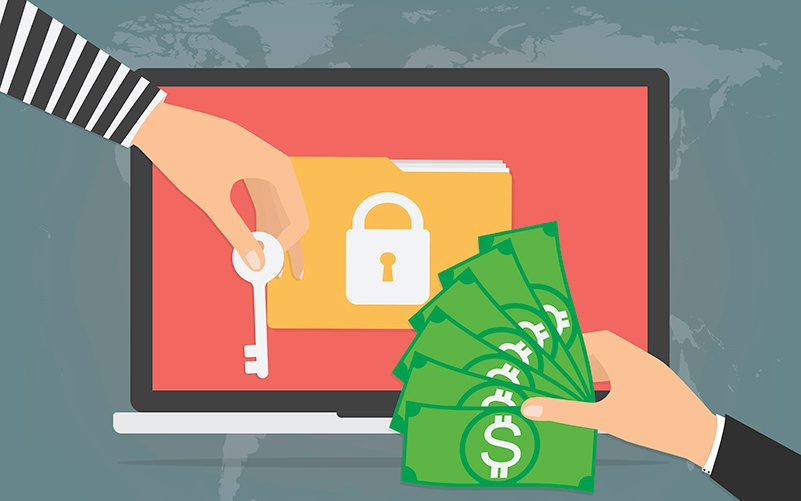 How to Survive a Ransomware Attack Loffler Companies header