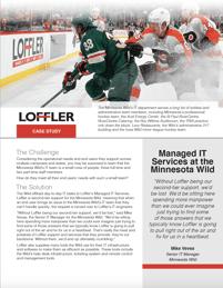 MN Wild Managed IT Services Case Study Loffler Companies