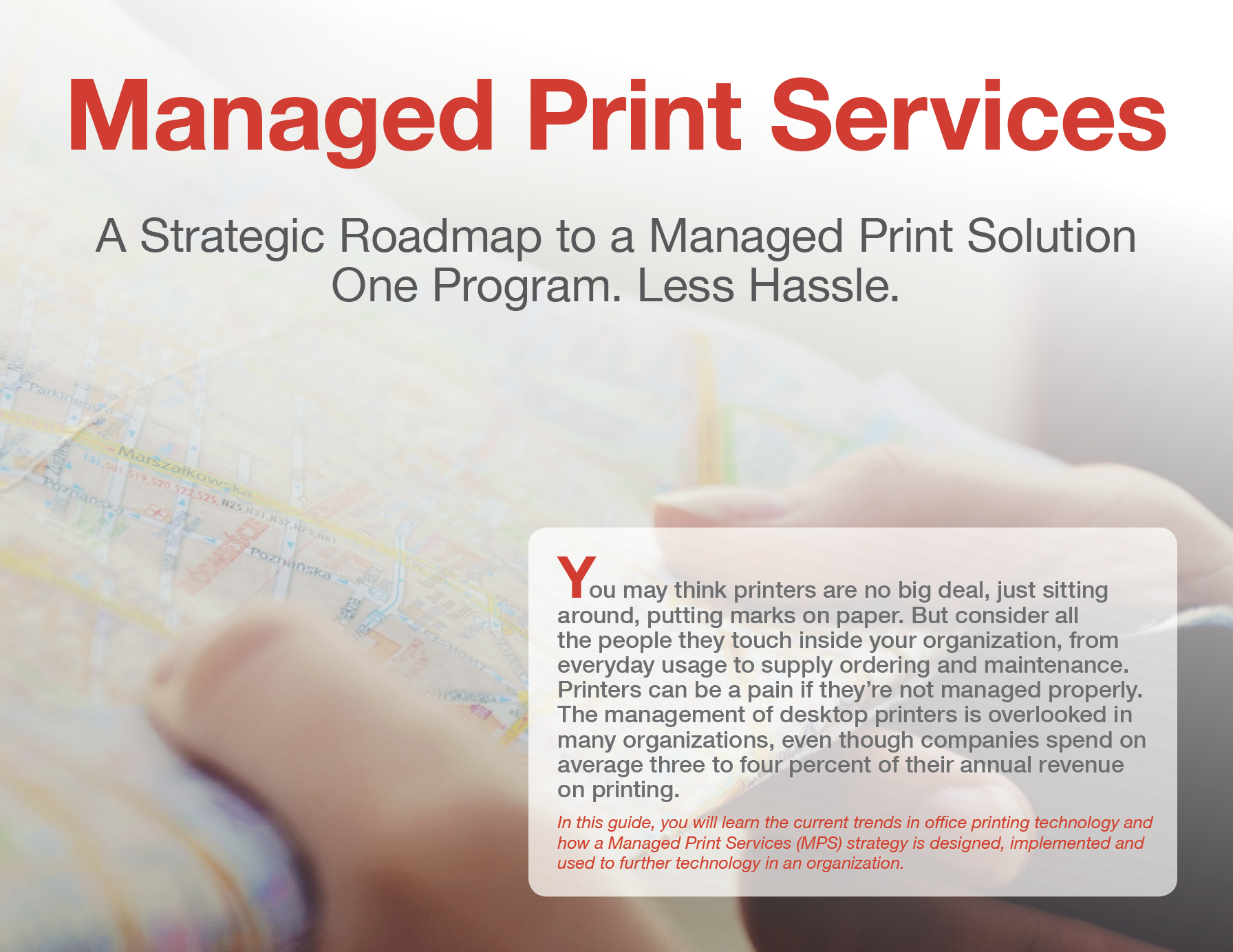 Managed Print Services A Strategic Roadmap to an MPS Solution Loffler Companies