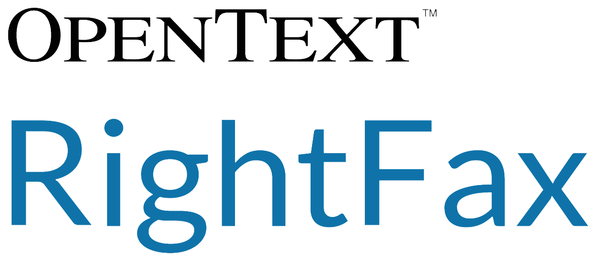 Pen Text Rightfax Lofo