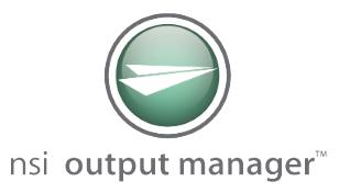 nsi output manager logo