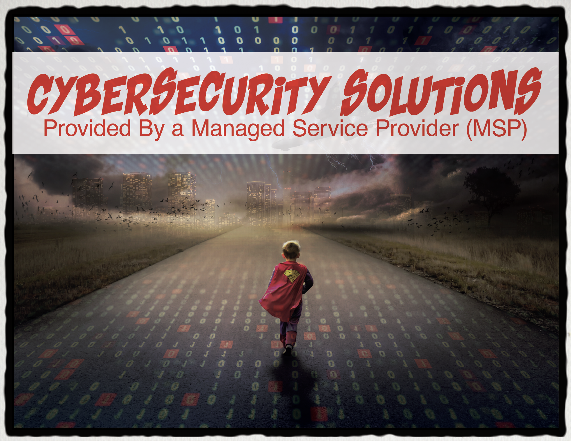 Cybersecurity Solutions Provided By a Managed Service Provider MSP Loffler Companies Cover