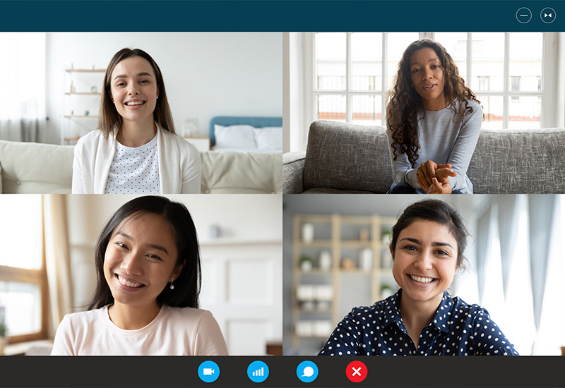Eight Video Call Tips from Loffler's CEO