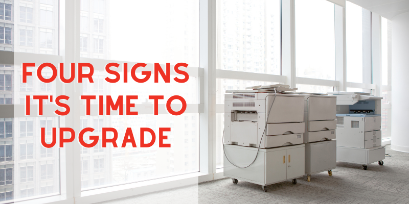 Four Signs You Need a New Office Copy Machine or Printer