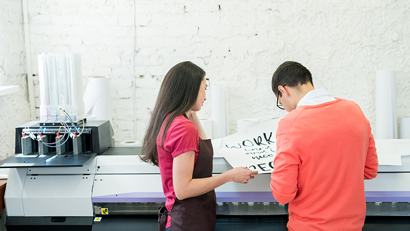 When to Outsource Document Printing Services