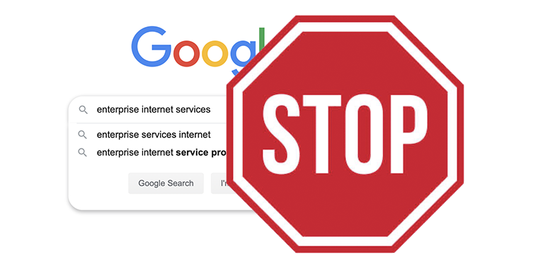 Why You Should Stop Searching for Enterprise Internet Services